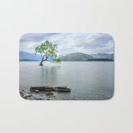 A story of beauty and survival at lake Wanaka, New Zealand. Bath Mat