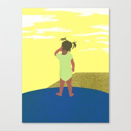 Scratch 긁적임 Canvas Print