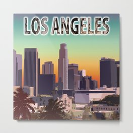Downtown Los Angeles Metal Print