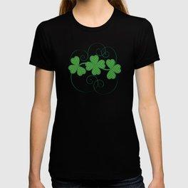 Shamrock Digital Embroidery T-shirt