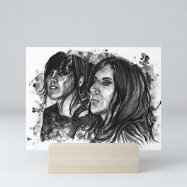 Kat Von D and Chris Corner Mini Art Print