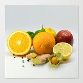 Vitamins Canvas Print