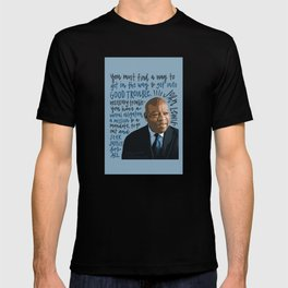 John Lewis Black Lives Matter, Civil Rights T-shirt