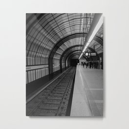 Check both ways, Cross - Germany Metal Print