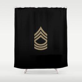 Master Sergeant (Brown) Shower Curtain
