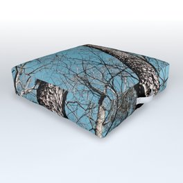 Twin Towers Outdoor Floor Cushion
