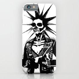 Punk Girl iPhone Case
