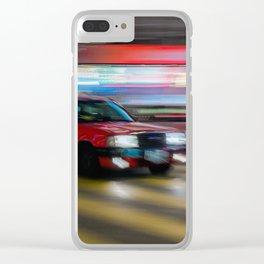 Hong Kong Warp Speed Clear iPhone Case