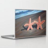 starfish Laptop & iPad Skins featuring Starfish by Lark Nouveau Studio
