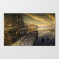 Towards Howden Dam Canvas Print