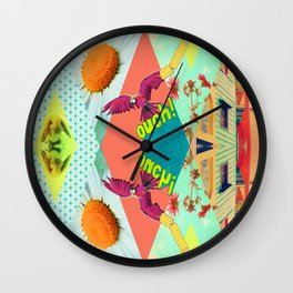 SUPER FUN  Wall Clock