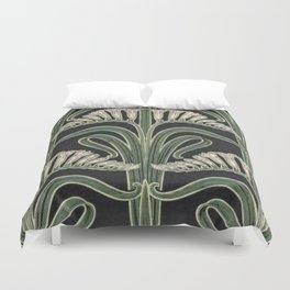 Art Nouveau Botanical Duvet Cover