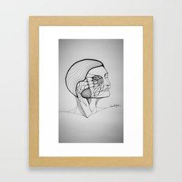 Burned with accomplishment Framed Art Print