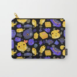 Boxfish - black Carry-All Pouch