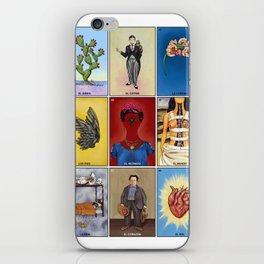 La Lotería de Frida iPhone Skin