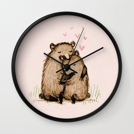 Bearlentines Wall Clock