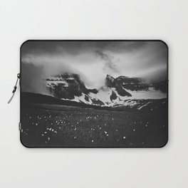 Dyrfjoll in Moody Black and White Laptop Sleeve