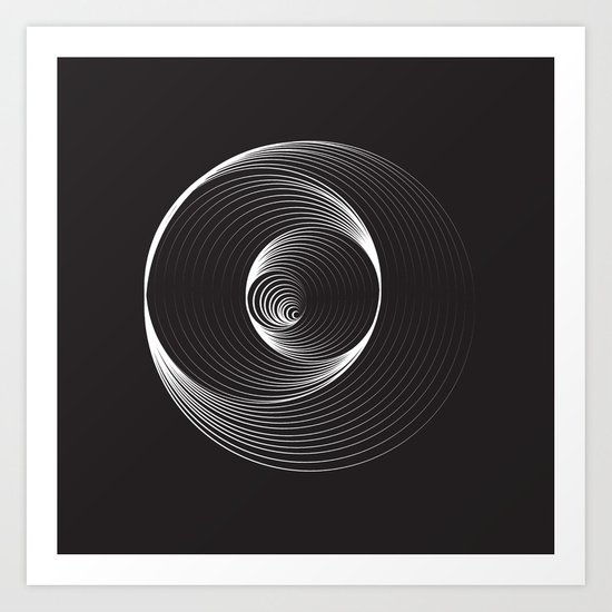 Black Hole - Small Art Print
