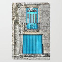 Cuba architecture Cutting Board