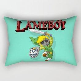 The Legend of LAMEBOT Rectangular Pillow