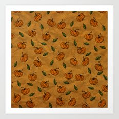 Autumn Texture Art Print