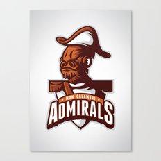 Mon Calamari Admirals Canvas Print