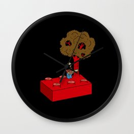 Construct and Destroy Wall Clock
