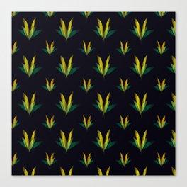 Linear flowers Canvas Print