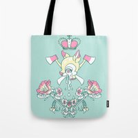 kendrawcandraw Tote Bags featuring King Bambi by kendrawcandraw