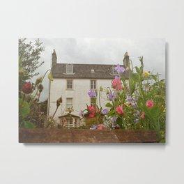 Scotland Cottage Metal Print