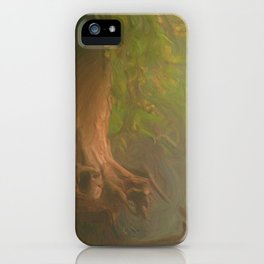 Gnarled and Broken iPhone Case
