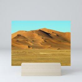 Sand Dunes Sahara Desert Landscape 22 Mini Art Print