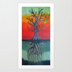 Life Above and Below Art Print
