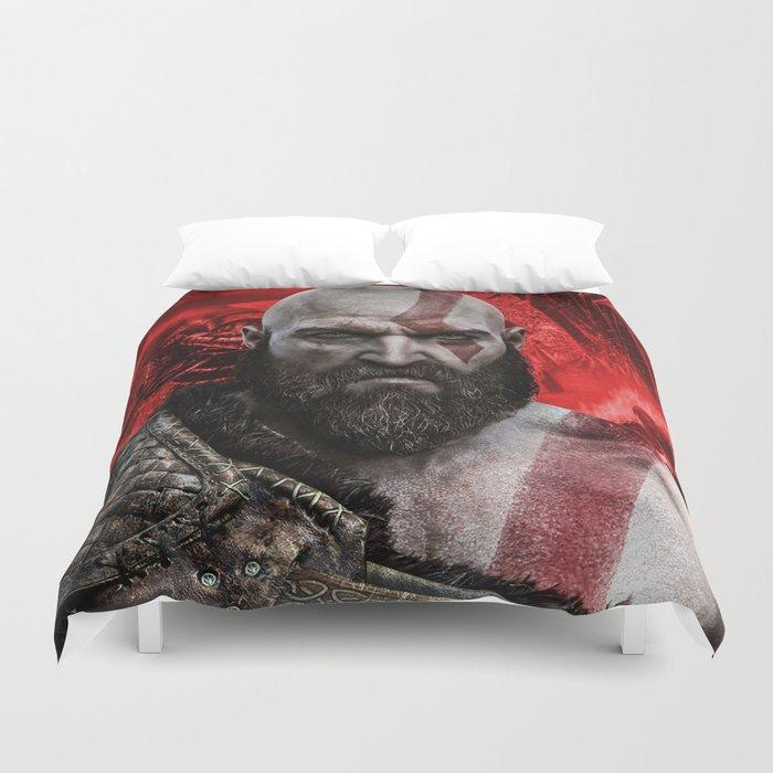 Kratos Duvet Cover