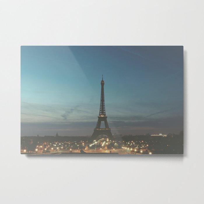 EIFFEL - TOWER - CITY OF PARIS Metal Print