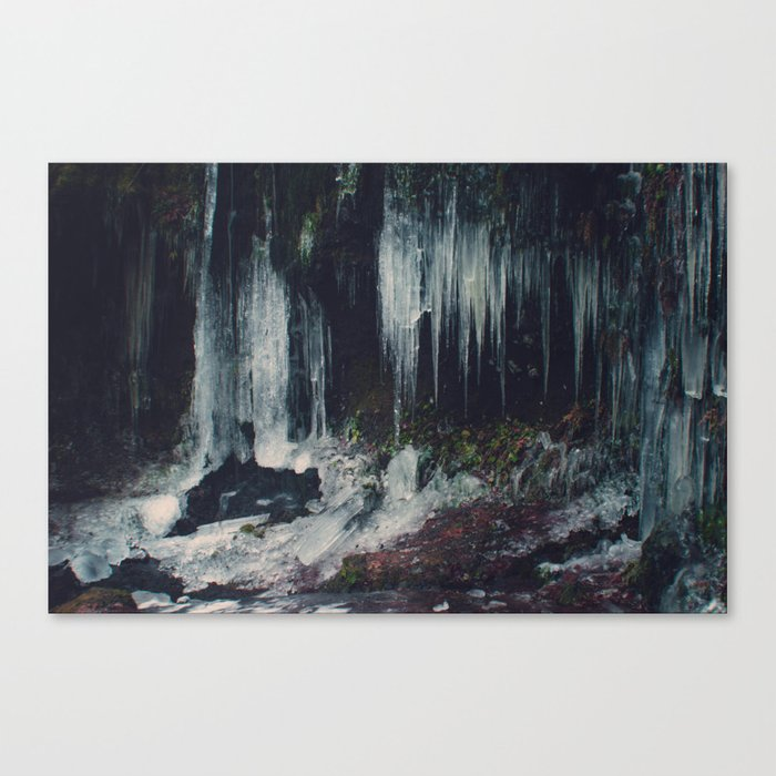 Ice Spikes Canvas Print