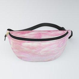 Cotton Candy Sky Soft Pink Fanny Pack