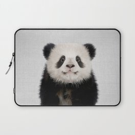 Panda Bear - Colorful Laptop Sleeve
