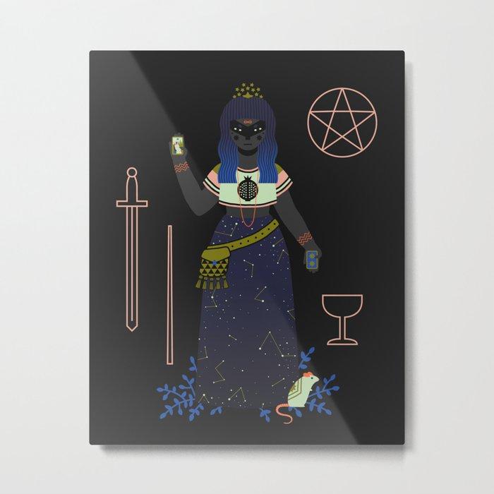 Witch Series: Tarot Cards Metal Print