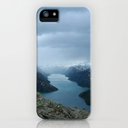 Down the Fjord iPhone Case