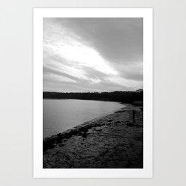 Dark River Art Print