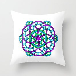 Celtic | Colorful | Mandala Throw Pillow