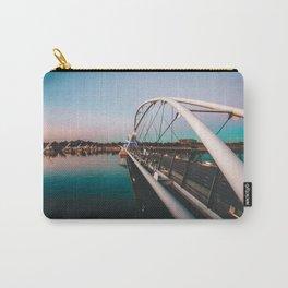 Tempe Lake Bridge Arizona Carry-All Pouch