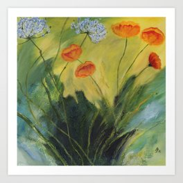 Summer In The Meadow Art Print