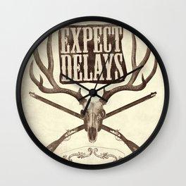 Expect Delays Wall Clock