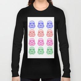 Multi-color Stromtrooper Long Sleeve T-shirt