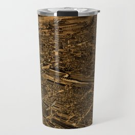 Map Of Allentown 1922 Travel Mug