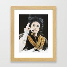POP LEGEND Framed Art Print