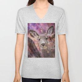 Spirit of the Deer - Shamanic Power Animal Unisex V-Neck