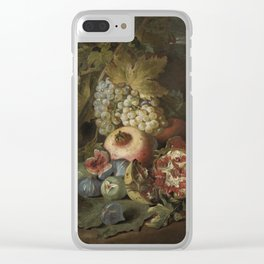 Abraham Brueghel - Still Life With Fruits Clear iPhone Case